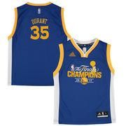 AdoreWe - NBAStore.com Youth Golden State Warriors Kevin Durant adidas Royal 2017 NBA Finals Champions Fashion Replica Jersey - AdoreWe.com