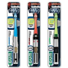 Butler Gum Star Wars Lightsaber Toothbrush