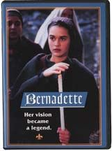 """BERNADETTE EPIC FILM:  This superb feature film presents the amazing story of the apparitions of Our Lady of Lourdes to a young Bernadette in the year 1858. Excellent  acting; shot on location in France. Highly recommended by the Vatican as a """"sensitive portrayal of a very moving story that deserves a wide audience."""" Ages 12+."""