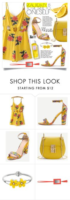 """SheIn Yellow Style"" by lillili25 ❤ liked on Polyvore featuring Stephanie Johnson, Rodin Olio Lusso and shein"