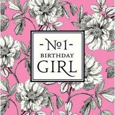 No 1 birthday girl
