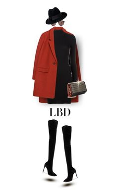 """Classy in a LBD"" by prettynposh2 ❤ liked on Polyvore featuring Zara, adidas Originals, Christian Louboutin, Oscar Tiye, Oliver Peoples, Gucci and LBD"