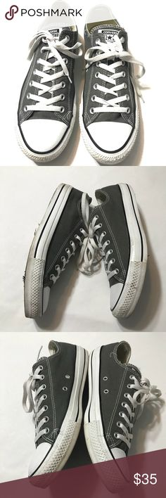 Converse Gray Chuck Taylor Sneakers Mens Sz 11 Great pre-loved condition; No damage; Sz Mens 11 Converse Shoes Sneakers