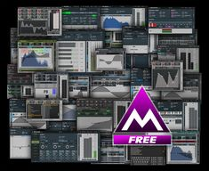 MeldaProduction, professional audio processing software, VST / / AU / AAX plugins for mixing, mastering and creative music processing Pink Noise, Logic Pro X, Professional Audio, Sound Design, Digital, Music Production, Guitars, Boards, Apps
