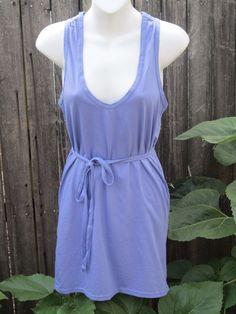 NWOT Victoria's Secret Moda International Lavender Purple Belted Dress Tunic   #ModaInternational #teeshirtdress #Casual
