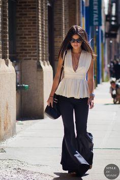 New York Fashion Week SS 2016 Street Style: Lainy Hedaya