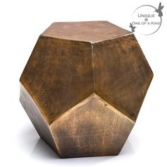 Polygon Cool Cuts Side Table - French Bedroom Company