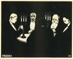 Felix Vallotton, A Game of Poker, Van Gogh Museum Poker, Illustrations, Illustration Art, Aubrey Beardsley, Van Gogh Museum, Post Impressionism, Lausanne, Artist Art, Art History