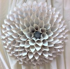 Paper Wall Flower - Stein Your Florist Co.