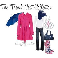 why don't I own a hot pink trench coat???