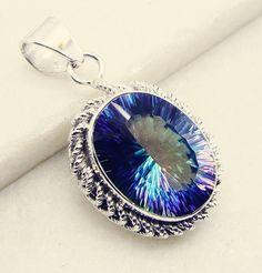 #uk #awesome_shots #mood #sky #them #wireweaving #circlependant #pendant #silver #gemstone #quartz #mystic #handmade #gems #jewelry #riyo #jeans #highschool #925silver
