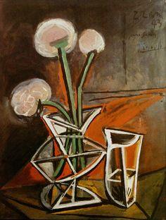 "geritsel: ""Pablo Picasso - still lifes 1943-1948 """