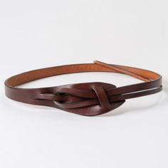 Rilleau Tapered Belt in Sale SHOP Jewelry+Accessories at Terrain Custom Leather Belts, Sewing Leather, Leather Braces, Leather Cuffs, Cowhide Leather, Leather Accessories, Jewelry Accessories, Women Jewelry, Belts For Women