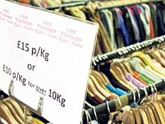 1. Vintage Kilo Sale, EdinburghWe all buy food by weight, so why not clothes? Brought to you by Britain's biggest vintage wholesaler, which is taking five tons of vintage stock to Scotland and selling it at £15 a kilo. There couldn't be a cheaper way to bulk buy retro outfits.4 and 5 May, judysvintagefair.co.uk