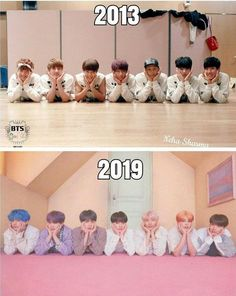 bts in 2013 vs bts in 2019 Bts Taehyung, Bts Bangtan Boy, Bts Jimin, Bts Lockscreen, Foto Bts, Billboard Music Awards, K Pop, Bts Funny, Funny Boy