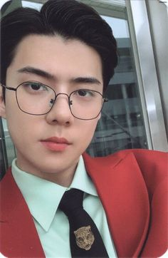 Sehun Gif, Foto Sehun, Exo Chanyeol, Exo Facts, Sehun Cute, The Power Of Music, Z Cam, Celebrity Dads, Celebrity Style