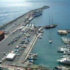 Der Hafen von San Sebastian