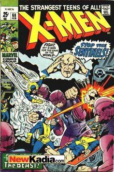 X-men 68 Marvel comics