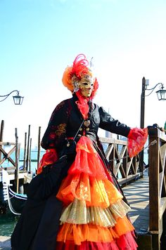 https://flic.kr/p/kMUPkQ | Venice Carnival - Carnevale di Venezia | Thursdays and Fridays fat in the beautiful setting of the Canals of Venice to photograph the wonderful masks its Carnival