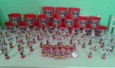Kit Minie Vermelho