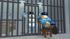 GET FROSTY OUT OF JAIL! - ROBLOX