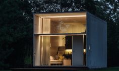 For those struck with a permanent sense of wanderlust, Estonian design collective Kodasema has created a tiny prefabricated home concept that can move with you. Called KODA, this minimalist-style structure can be disassembled and prepped to travel in about four hours. Better yet, it has off-road capabilities—KODA is made primarily of concrete and has a …
