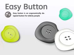 Easy Button, Red Dot Award, design for dignity, Han Jisook, Tang Wei-Hsiang, Tsai Po-An, buttons, eco-fashion, sustainable fashion, green fashion, ethical fashion, sustainable style, ergonomics, elderly, physical disabilities