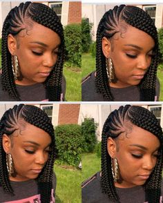 Cornrow hairstyles , cornrow frisuren , coiffures cornrow , peinados cornrow , hairstyles for m Short Box Braids Hairstyles, African Braids Hairstyles Pictures, Lemonade Braids Hairstyles, Pretty Braided Hairstyles, Bob Braids, Kids Braided Hairstyles, Braids Cornrows, Hairstyles Men, Formal Hairstyles