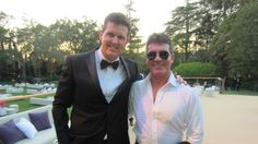 w/Simon Cowell @ Holly & Nick Candy's wedding in Beverly Hills, CA