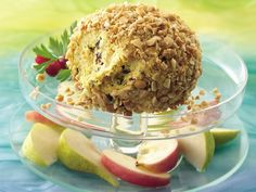 Curried Cheese Ball - Aunt Carol's Version: 8oz cream cheese 4oz sour ...