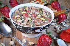 #Receta: #Porridge de fresas (sin gluten, sin lácteos, sin huevo, sin azúcares) #singluten #sinlacteos #sinazucar