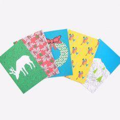 Lot de 5 cartes de vœux Beach Mat, Creations, Outdoor Blanket, Etsy, Unique, Cards, Japanese Paper, Greeting Cards, Paper Mill