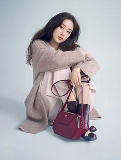 Jung Ryeo Won in Ravenova Bag Campaign