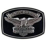 Harley-Davidson Endurance Buckle - HDMBU10448 Polished Silver Finish Collector Buckle