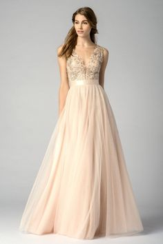 this dress! wow! Watters Maids Dress 7319i bridesmaids, lace, Birmingham weddings