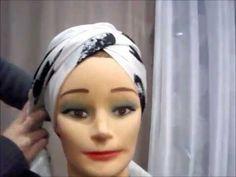 comment nouer un foulard-Partie2 (turban tutorial) - YouTube