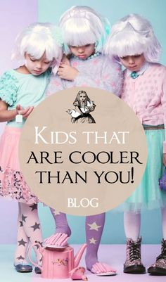 Kids that are cooler than you! Celebrity kids seem to have been the hot topic recently. With modeling contracts, magazine editorials and hit TV series Stranger Things children are becoming as famous as their superstar parents. Children's fashion has always been an interest of mine, it's like women's fashion but smaller cuter and crazier. As a children's wear designer...