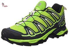 Salomon X Ultra 2, Chaussures de Marche Homme, Vert (Granny Green/Deep Blue/Green Glow), 48 EU - Chaussures salomon (*Partner-Link)