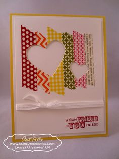 Best Of Greetings Blog Tour - Washi Tape card by Andi Potler