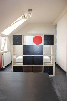 chambre #ado aux accents #nippons- réalisation: insideyourhome.co #décorateur #Bruxelles #déco #asiatique