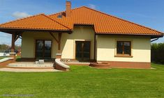 Projekt domu Ramzes 112,2 m2 - koszt budowy 241 tys. zł - EXTRADOM Good House, House Design, Mansions, House Styles, Outdoor Decor, Home Decor, Country Houses, Home Plans, Emerald
