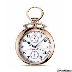 Różowe złoto. Cena tylko 339 tys PLN. Nawet Nowak by kucnął.  - Omega Olympische Pocketwatch