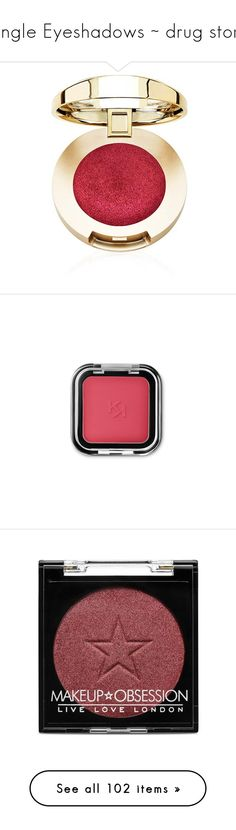 """""""Single Eyeshadows ~ drug store"""" by jmn312 ❤ liked on Polyvore featuring beauty products, makeup, eye makeup, eyeshadow, cosmetics, gel eyeshadow, creamy eyeshadow, beauty, eyes and rimmel eye makeup"""