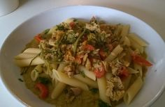 Pennette asparagi  e tonno - Chef ASDOMAR
