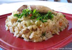 Chicken Pilaf by Transylvanian Kitchen Risotto, Chicken, Ethnic Recipes, Kitchen, Food, Kitchens, Cooking, Essen, Meals