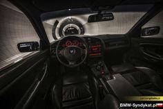 BMW e36 coupe interior