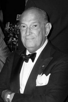 Oscar De La Renta, (born July 22, 1932) is one of the world's leading fashion designers. Trained by Cristóbal Balenciaga and Antonio Castillo, he became internationally known in the 1960s as one of the couturiers to dress Jacqueline Kennedy. An award-winning designer, he worked for Lanvin and Balmain; his eponymous fashion house continues to dress leading figures, from film stars to royalty, into the 2010s. De La Renta is particularly known for his red carpet gowns and evening wear.