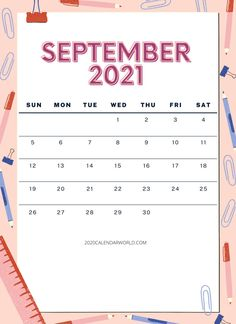 September 2021 Calendar Printable:- Calendar management is one of the most important parts of your life, because if you do not manage it. Then you can't achieve your goals easily and you will not survive perfectly in the world. Therefore, here we are sharing with you September 2021 calendar with holidays. And also we have floral and Word or excel September month calendar template. If you need these types of calendars so download them and print them. Almost every person has taken some educa September Calendar Printable, Holiday Calendar, Calendar Board, 2021 Calendar, Gravitational Potential, Quarterly Calendar, Calendar Wallpaper, Do You Work, Printables
