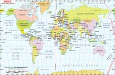 The world Latitude and Longitude Map clearly shows the latitude and longitude of countries and different places across the world and world map equator. The digital map file are available in various editable and non-editable formats.