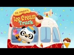 Dr Panda's Ice Cream Truck | Food Game App for Kids